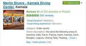 merlin divers tripadvisor scuba diving review
