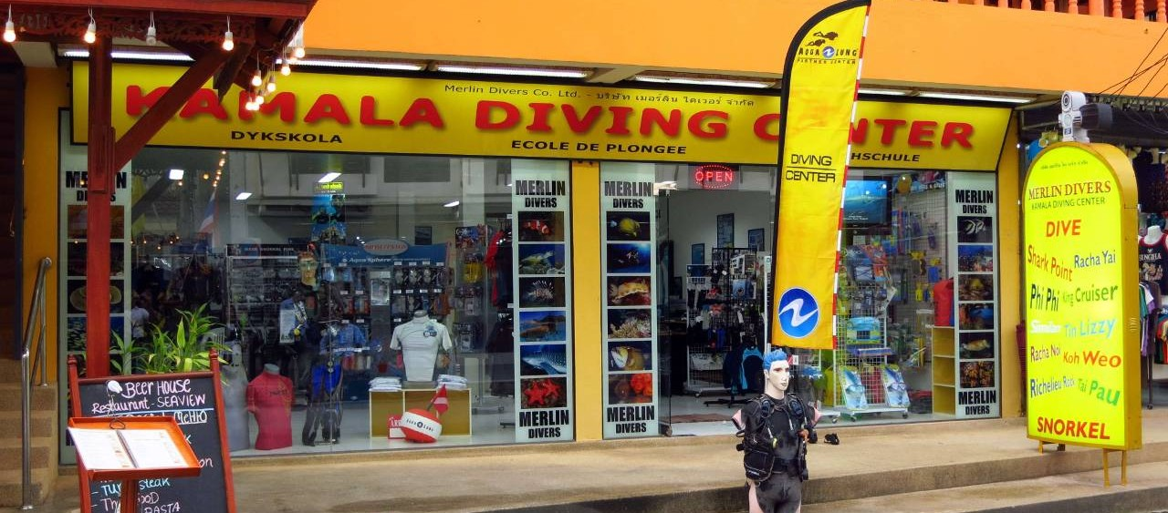 Merlin Divers Kamala Phuket PADI SSI Dive Shop
