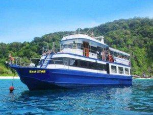 day trip phi phi island koh doc mai boat