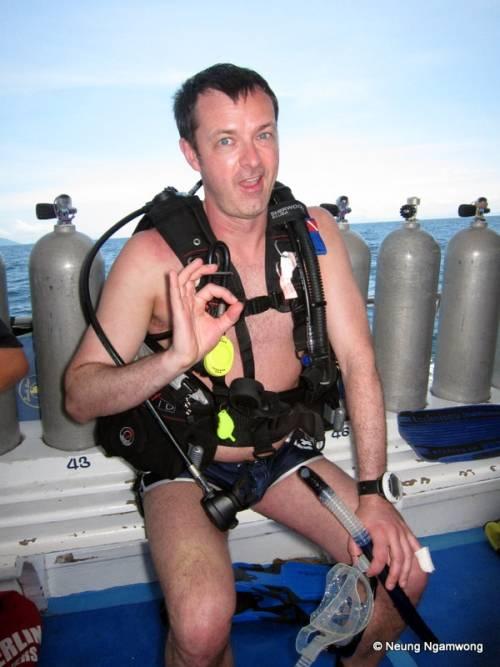 Cours de plongée sous-marine Phuket