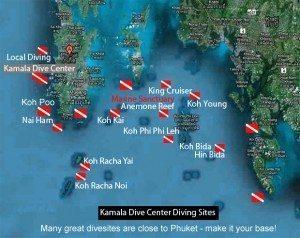 sites de plongee phuket