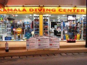 Club et Magasin de plongée sous-marine à Phuket