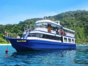 scuba diving trips to Phi Phi Island